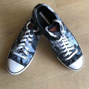 Converse All Star Ox Sneakers Black+Grey Sz 9M/11W